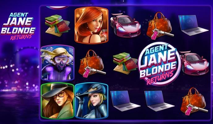Spela Agent Jane Blonde Returns på Yako Casino!