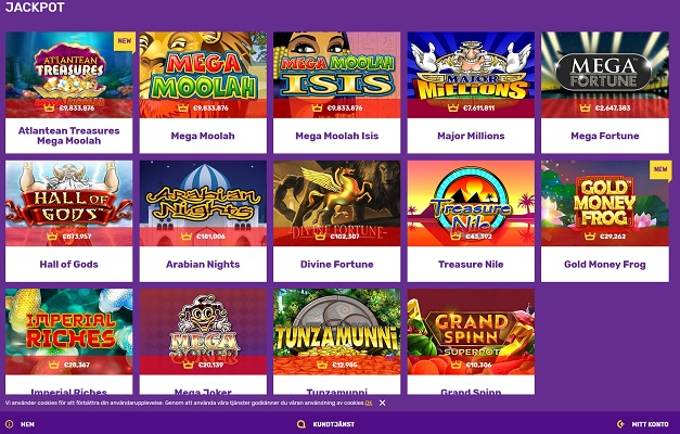 Två nya jackpottspel hos Yako Casino!