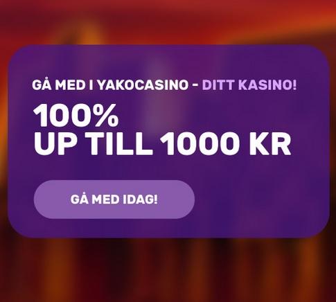 Spela två nya jackpottspel hos Yako Casino!